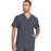 Cherokee Infinity CK900A Scrubs Top Men's V-Neck Pewter 5XL
