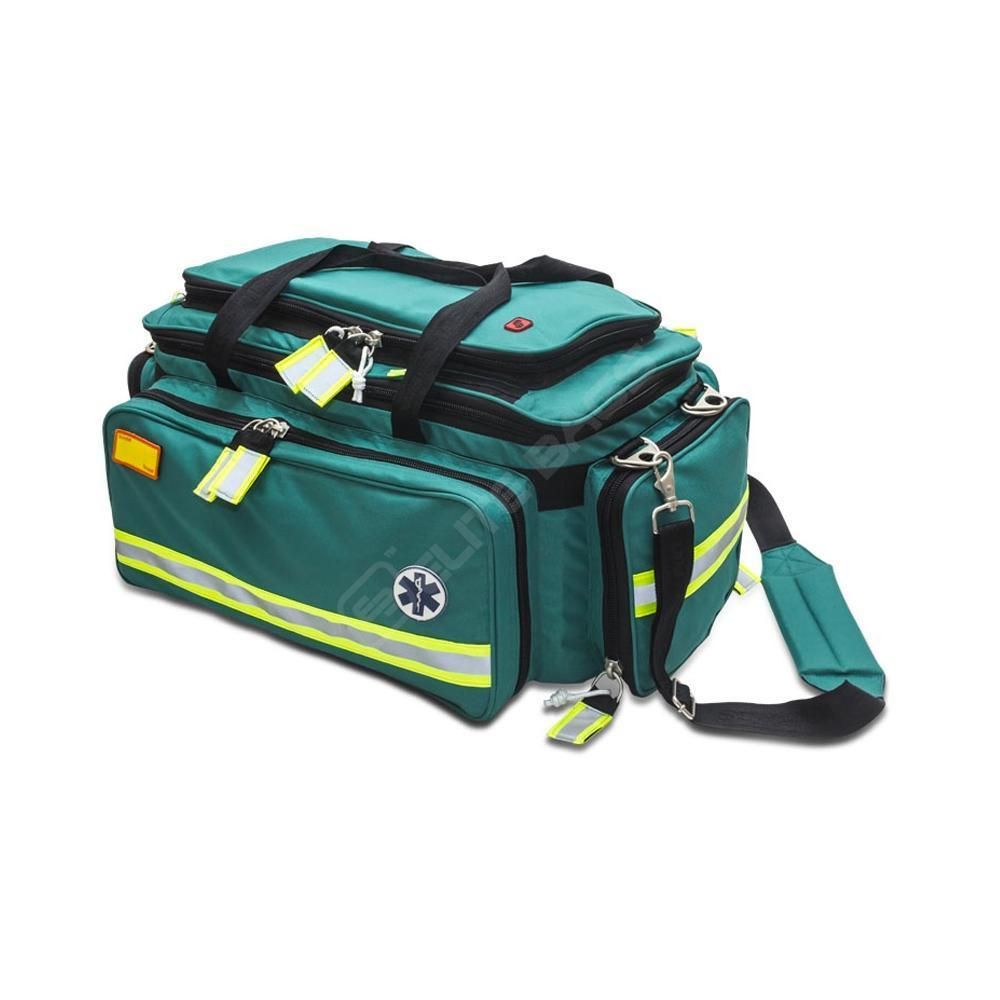 Elite Bags CRITICAL'S Advanced Life Support Emergency Bag in Green