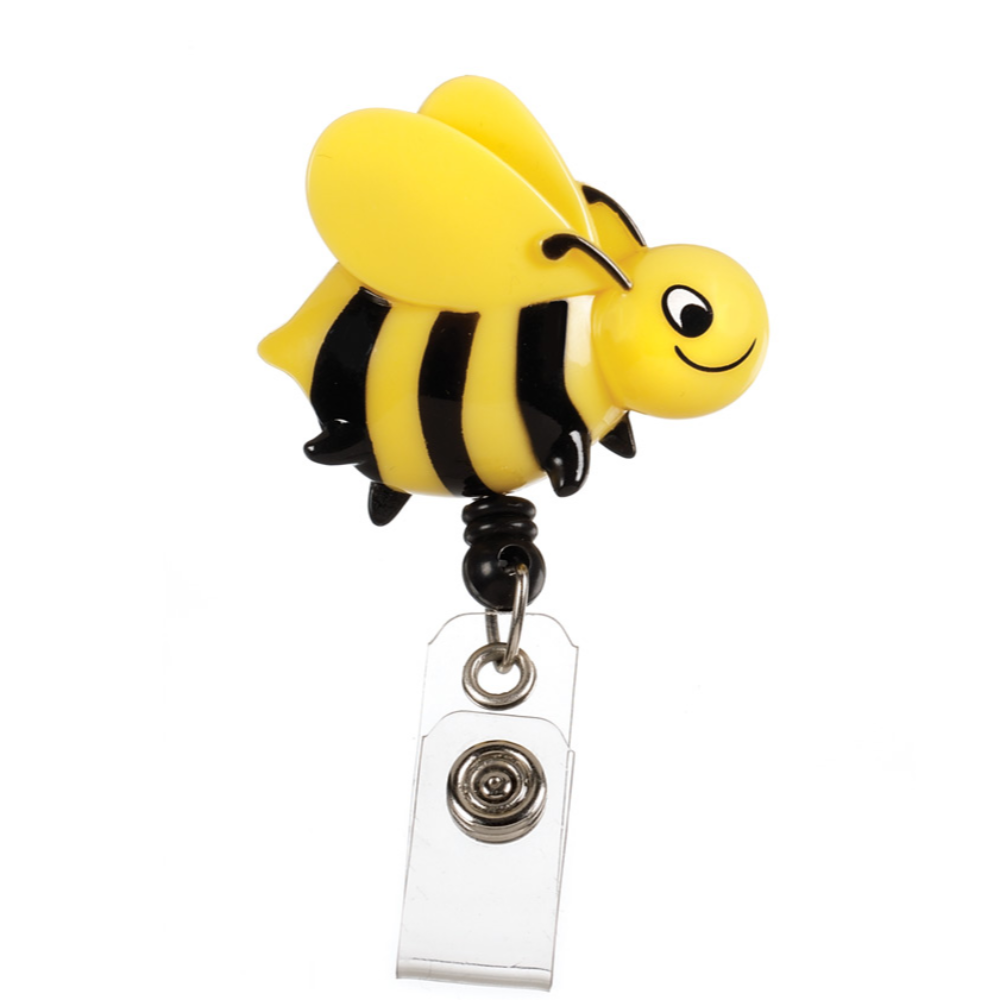 Prestige Deluxe Retracteze ID Holder Bees
