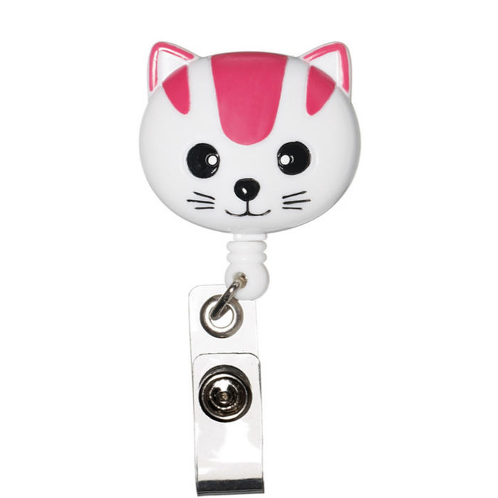 Prestige Deluxe Retracteze ID Holder Pink Cat