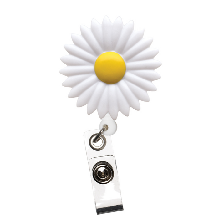 Prestige Deluxe Retracteze ID Holder Daisy