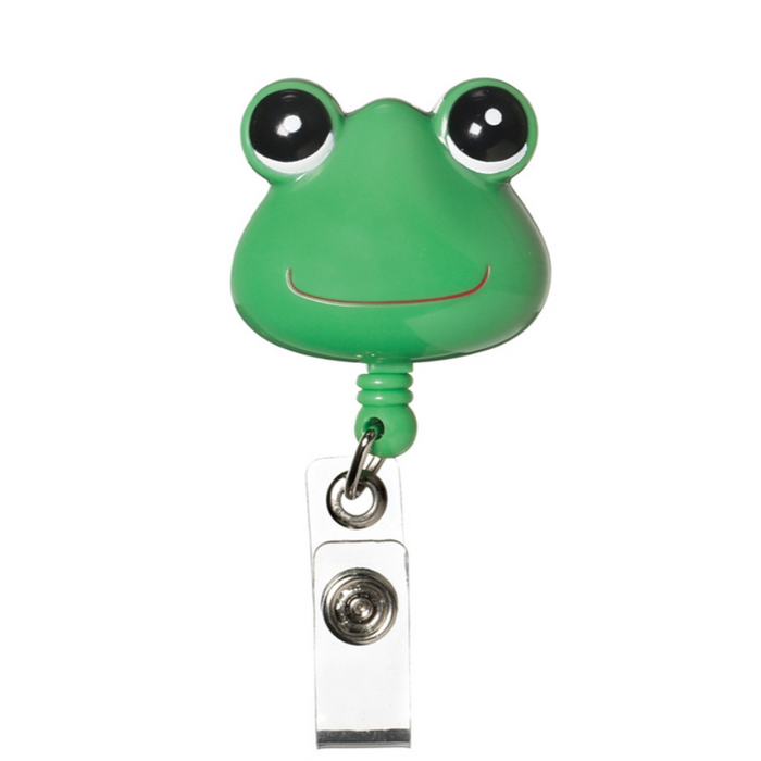 Prestige Deluxe Retracteze ID Holder Green Frog