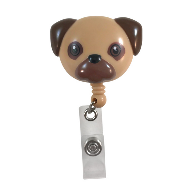 Prestige Deluxe Retracteze ID Holder Pug