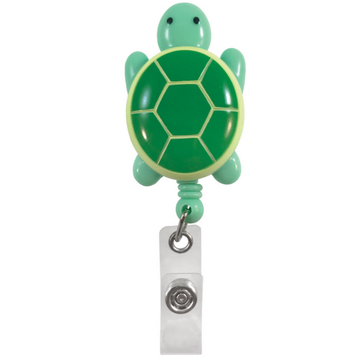 Prestige Deluxe Retracteze ID Holder Turtle