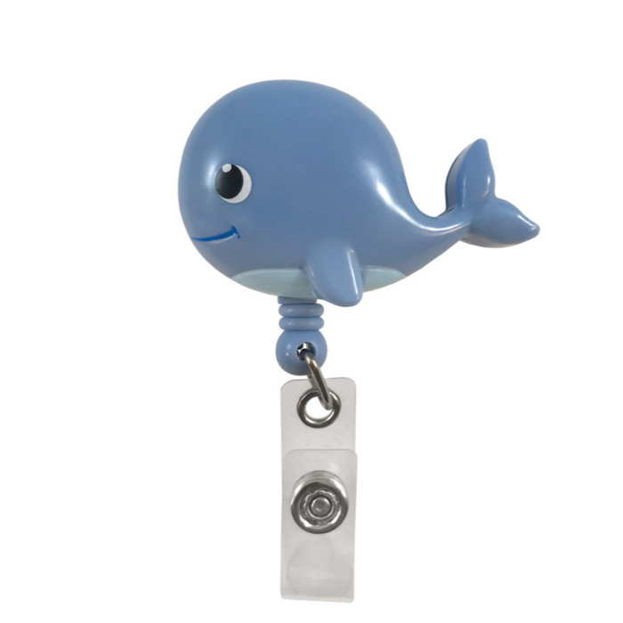Prestige Deluxe Retracteze ID Holder Whale