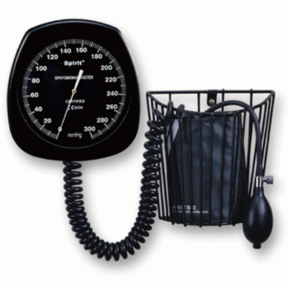 Spirit Large Round Face Aneroid Sphygmomanometer Wall Model