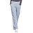 Cherokee Workwear Revolution WW110 Scrubs Pants Women's Mid Rise Straight Leg Pull-on Grey