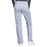 Cherokee Workwear Revolution WW110 Scrubs Pants Women's Mid Rise Straight Leg Pull-on Grey 3XL