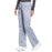 Cherokee Workwear Revolution WW110 Scrubs Pants Women's Mid Rise Straight Leg Pull-on Grey 4XL