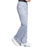 Cherokee Workwear Revolution WW110 Scrubs Pants Women's Mid Rise Straight Leg Pull-on Grey 5XL