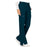 Cherokee Workwear Revolution WW120 Scrubs Pants Women's Mid Rise Flare Drawstring Caribbean Blue 5XL