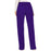 Cherokee Workwear Revolution WW120 Scrubs Pants Women's Mid Rise Moderate Flare Drawstring Grape 3XL