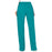 Cherokee Workwear Revolution WW120 Scrubs Pants Women's Mid Rise Flare Drawstring Teal Blue 3XL