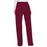 Cherokee Workwear Revolution WW120 Scrubs Pants Women's Mid Rise Moderate Flare Drawstring Wine 3XL