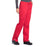 Cherokee Workwear Professionals WW160 Scrubs Pants Women's Mid Rise Straight Leg Drawstring Red 5XL