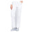 Cherokee Workwear Professionals WW160 Scrubs Pants Women's Mid Rise Straight Leg Drawstring White