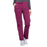 Cherokee Workwear Professionals WW160 Scrubs Pants Women's Mid Rise Straight Leg Drawstring Wine