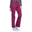 Cherokee Workwear Professionals WW160 Scrubs Pants Women's Mid Rise Straight Leg Drawstring Wine 5XL