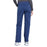 Cherokee Workwear Professionals WW170 Scrubs Pants Women's Mid Rise Straight Leg Pull-on Cargo Navy 3XL