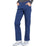 Cherokee Workwear Professionals WW170 Scrubs Pants Women's Mid Rise Straight Leg Pull-on Cargo Navy 4XL