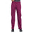 Cherokee Workwear Professionals WW170 Scrubs Pants Women's Mid Rise Straight Leg Pull-on Cargo Wine