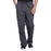 Cherokee Workwear Professionals WW190 Scrubs Pants Men's Tapered Leg Drawstring Cargo Pewter