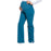 Cherokee Workwear Professionals WW220 Scrubs Pants Maternity Straight Leg Caribbean Blue L