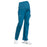 Cherokee Workwear Professionals WW220 Scrubs Pants Maternity Straight Leg Caribbean Blue M