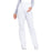 Cherokee Workwear Professionals WW220 Scrubs Pants Maternity Straight Leg White