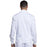 Cherokee Workwear Revolution WW320 Scrubs Jacket Men's Zip Front White 3XL