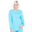 Cherokee Workwear Professionals WW340 Scrubs Jacket Women's Snap Front Warm-up Turquoise
