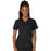 Cherokee Workwear Revolution WW620 Scrubs Top Women's V-Neck Black