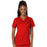 Cherokee Workwear Revolution WW620 Scrubs Top Women's V-Neck Red