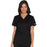 Cherokee Core Stretch WW630 Scrubs Top Women's V-Neck Black