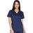 Cherokee Core Stretch WW630 Scrubs Top Women's V-Neck Navy