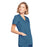 Cherokee Workwear WW650 Scrubs Top Women's Mock Wrap Caribbean Blue 5XL