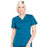 Cherokee Workwear Professionals WW665 Scrubs Top Women's V-Neck Caribbean Blue