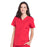 Cherokee Workwear Professionals WW665 Scrubs Top Women's V-Neck Red