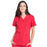 Cherokee Workwear Professionals WW665 Scrubs Top Women's V-Neck Red 4XL