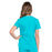 Cherokee Workwear Professionals WW665 Scrubs Top Women's V-Neck Teal Blue 3XL