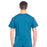 Cherokee Workwear Professionals WW675 Scrubs Top Men's V-Neck Caribbean Blue 3XL