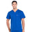 Cherokee Workwear Professionals WW675 Scrubs Top Men's V-Neck Galaxy Blue