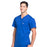 Cherokee Workwear Professionals WW675 Scrubs Top Men's V-Neck Galaxy Blue 4XL