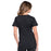 Cherokee Workwear Professionals WW685 Scrubs Top Maternity Mock Wrap Black 3XL