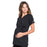 Cherokee Workwear Professionals WW685 Scrubs Top Maternity Mock Wrap Black L