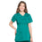 Cherokee Workwear Professionals WW685 Scrubs Top Maternity Mock Wrap Hunter Green