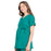 Cherokee Workwear Professionals WW685 Scrubs Top Maternity Mock Wrap Hunter Green L