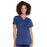 Cherokee Workwear Professionals WW685 Scrubs Top Maternity Mock Wrap Navy