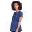 Cherokee Workwear Professionals WW685 Scrubs Top Maternity Mock Wrap Navy L
