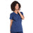 Cherokee Workwear Professionals WW685 Scrubs Top Maternity Mock Wrap Navy M